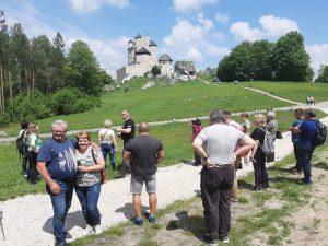 Szlak Orlich Gniazd - w drodze na Zamek Bobolice.